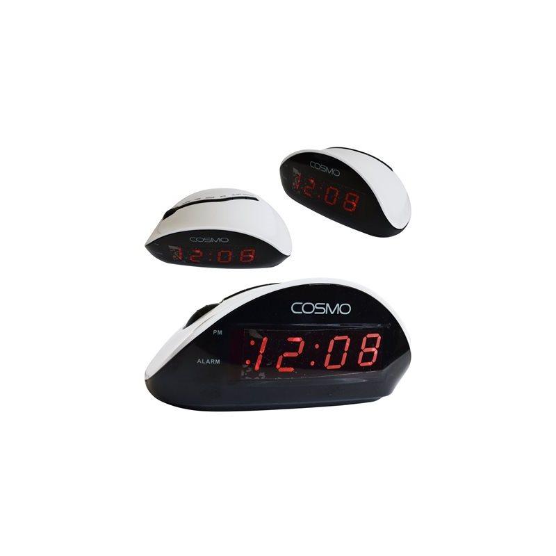 Thermomètre et réveil-matin