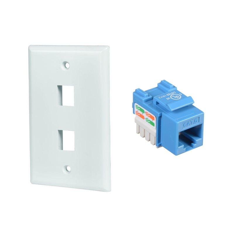 Plaques et connecteurs Keystone