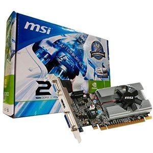 Carte vidéo MSI GeForce 210 1GB DDR3 DVI HDMI VGA