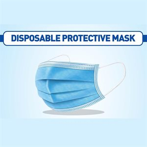 masque de protection jetable 50pcs (03559)