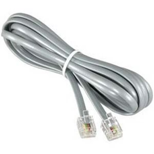 Cable de téléphone RJ12 25' (942)