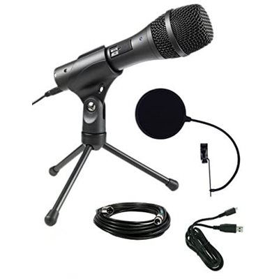 AT2005USB - Microphone dynamique portatif XLR / USB