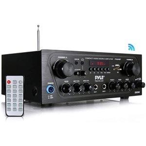 amplificateur audio compact bluetooth 2 canaux ( PTA24BT)