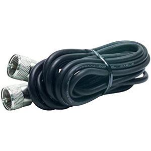 Câble Kalibur CB 18pi - PL259 / RG58A (KPP18-B)