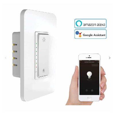 gradateur intelligent wi-fi alexa / google / smartlife