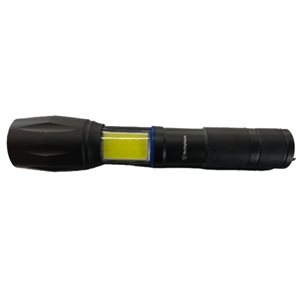 2 en 1 lampe de poche tactique DEL et lanterne COD