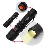 lampe de poche tactique DEL en metal 150l 3 modes